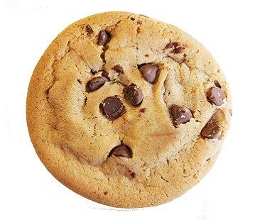 Caffeinated Cookies chocolate chip