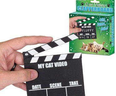Cat Video Clapperboard box