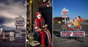 Clown Themed Motel Nevada Desert