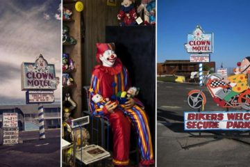 Clown Themed Motel Nevada Desert
