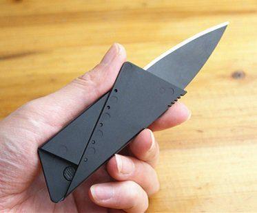 Credit Card Folding Knife safety