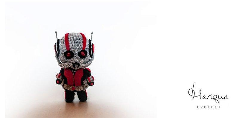 Crotchet Ant Man