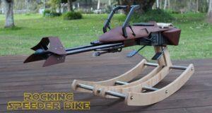 Dad Builds Star Wars Rocking Horse