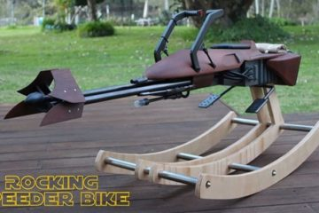 Dad Builds Star Wars Rocking Horse