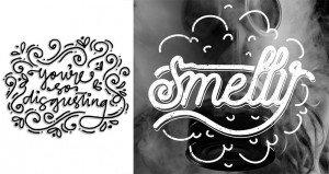 Design Crowd Ugly Words Art