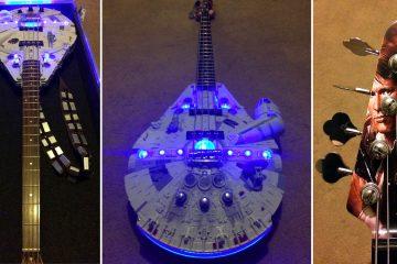 Fully-Functional Millennium Falcon Guitar