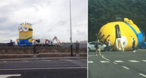 Giant Inflatable Minion Ireland