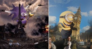 Giant Minions Taking Over The World