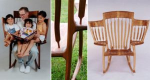 Hal Taylor Three-Seater Rocking Chair