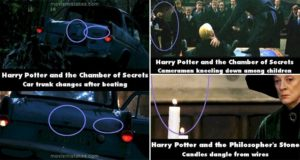 Harry Potter Movie Mistakes