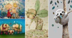 Heartwarming Animal Illustrations
