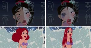 If Disney Princesses Had Realistic Makeup