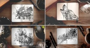 Joseph Catimbang Nature-Inspired Illustrations