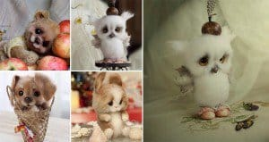 Julia Yurkevich Little Mohair And Wool Animals