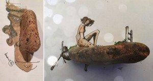 Korhan Ercin Cartoons With Stones