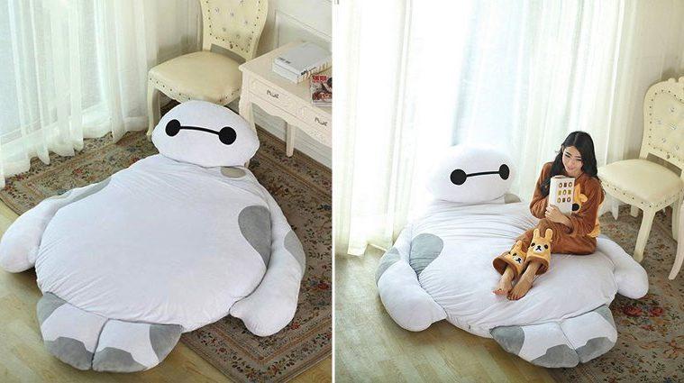 Life Size Baymax Sofa Bed
