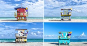 Lifeguard Cabins In Miami