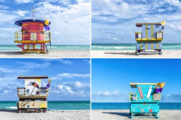Lifeguard Cabins In Miami