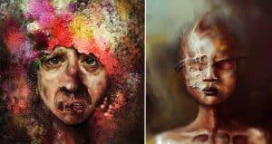 Macabre Digital Paintings