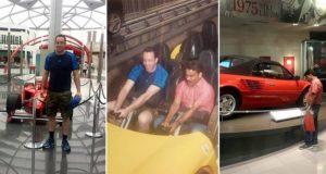 Man Takes Taxi Driver To Theme Park