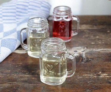 Mason Jar Shot Glasses drink