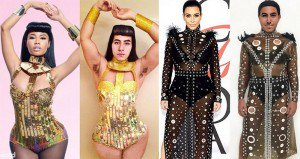 Mina Gerges Garbage Bags And Old Curtains Fashion