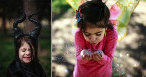 Mom Takes Photos Of Her Daughter Dressed As Fictional Characters