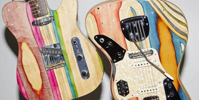 Old-skate-decks-upcycled-into-guitars