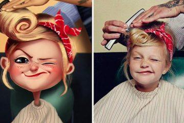 People Turned Into Cartoons