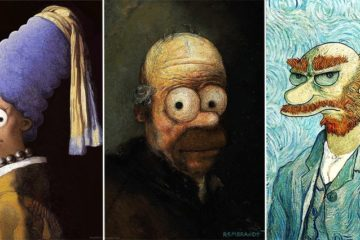 Pop Culture Elements Added To Iconic Paintings
