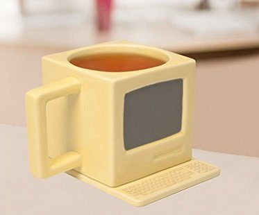 Retro Computer Shaped Mug