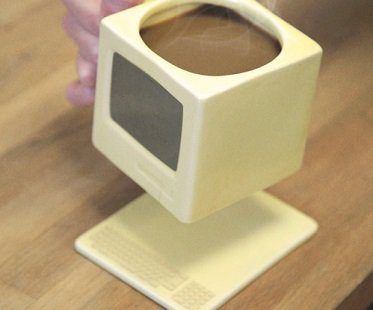 Retro Computer mug and coaster
