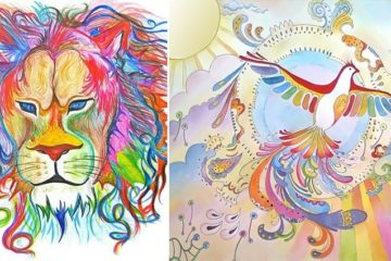 Sarang Khanna Abstract Animal Illustrations