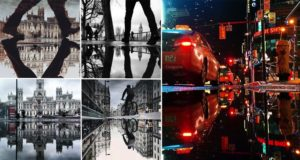 Shots Of Puddles Taken With Smartphone