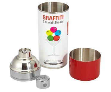 Spray Paint Can Cocktail Shaker graffiti
