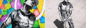 Street Art Body As Living Canvas