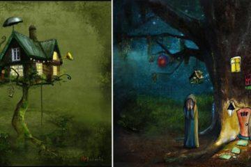 Surreal Illustrations By Matylda Konecka