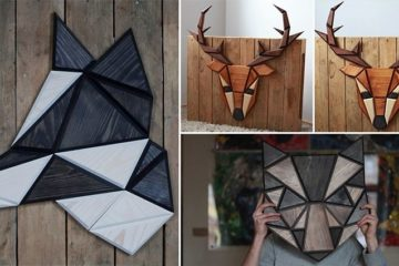 Tomasz Ciurka Geometric Animal Heads