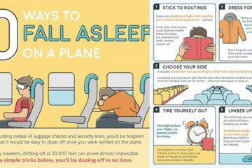 Ways To Fall Asleep On A Plane