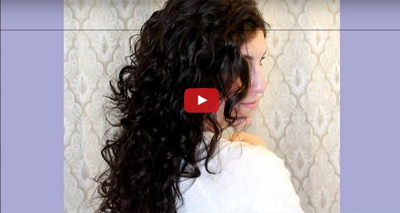 See How To Get Great Curls Overnight With Just Wet Hair