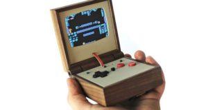 Wood Encased GBA SP Emulator