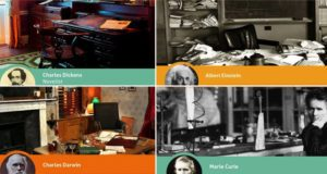 Workspaces Of Iconic Scientists And Creatives