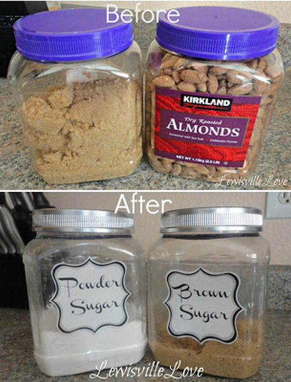 almond pantry containers