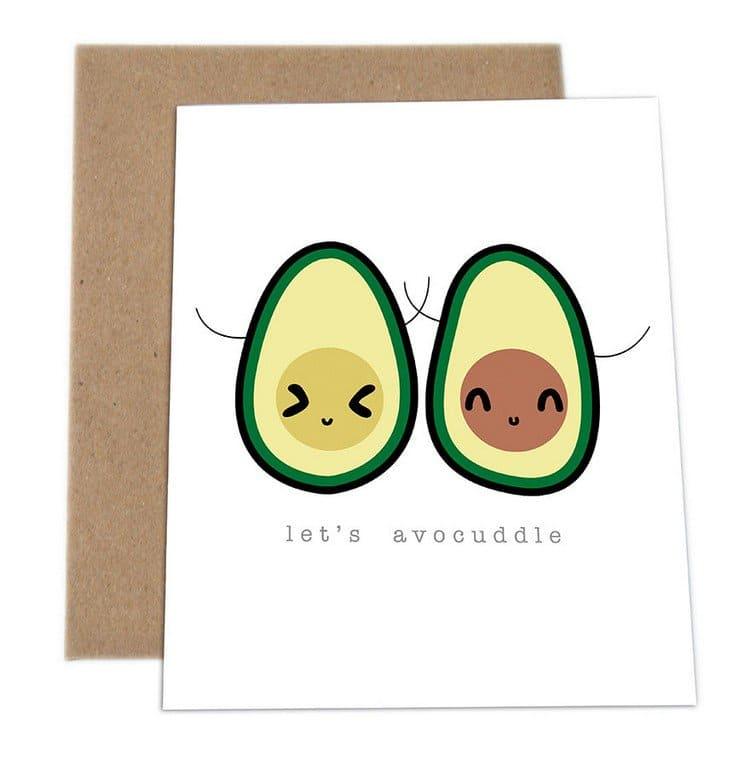 avocuddle card