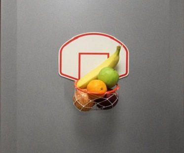 basketball fridge magnet fruit
