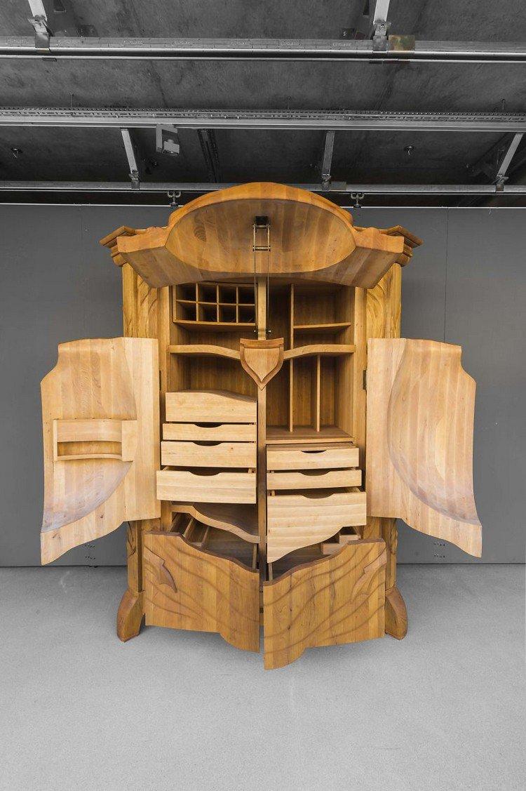 beetle cabinet open