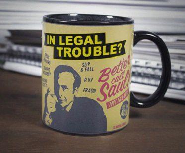 better call saul heat changing mug