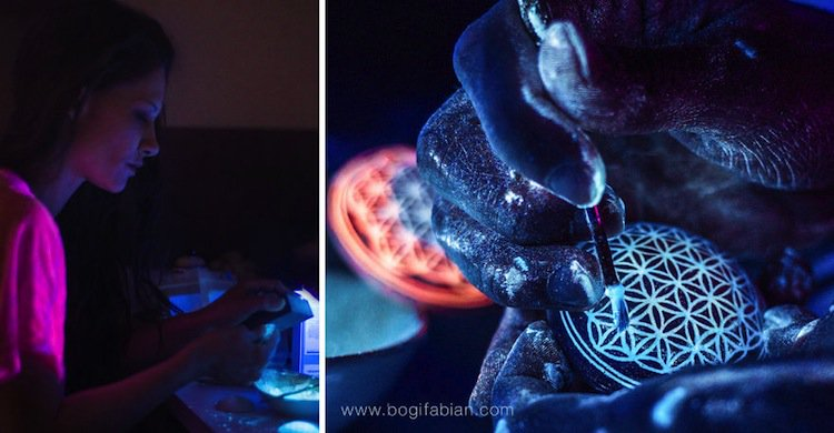 bogi second. Unique Glow In The Dark Ceramic Jewelry By Bogi Fabian
