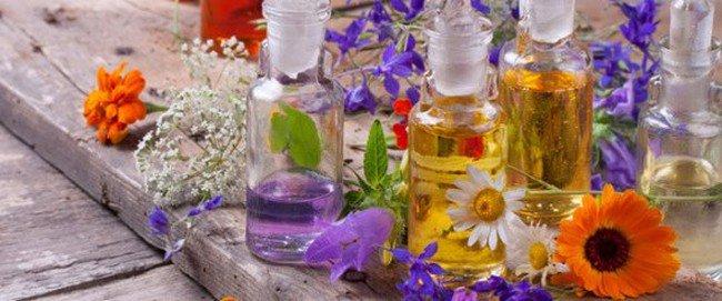 bottles flowers