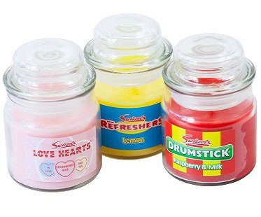 classic candy candle jars